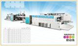 Automatisches Hochgeschwindigkeitsdrucken der Farben-6, das Gegenejektor klebend kerbt