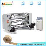 Автоматическая пластмасса бумаги клейкой ленты разрезая & перематывать машина