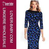 Платье вечера платья женщин размера высокого качества большое (L36101-2)