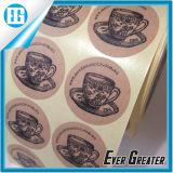 Étiquette créatrice de papier d'imprimerie d'innovation du plus défunt type de coutume