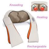 Calefacción recargable de amasamiento de hombro de masaje masajeador Chal Cuerpo