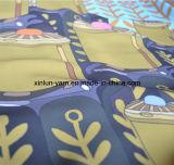 Напечатанная жаккардом ткань шифоновых платьев шифоновая для платья/одежд/клобука