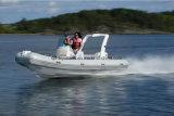 Aqualand 19feet 5.7m 12 Personen-steifes aufblasbares Bewegungsboots-/-fiberglas-Rippen-Boot/Rettungs-/Patrouillen-/Sport-Tauchen (rib570b)