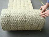 China Hoch-Dichte Rock Wool Blanket mit Wire Mes Insulation Material Wärme-beständiger ISO auf Sale