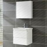 La vente en ligne à chaud mur accroché la vanité de miroir de salle de bain avec bain du bassin de lavage haute brillance vanité Cabinet Cabinet MDF moderne salle de bains