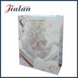 Logo Design personnalisé imprimé de mariage pas cher la vente en gros sacs de papier d'artisanat