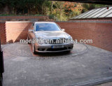 Plataforma giratória de alumínio hidráulica do carro de plataforma