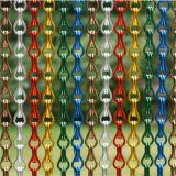 Gordijn van de Link van de Keten van het Netwerk van het Aluminium van het metaal het Decoratieve