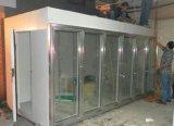 Bouteille/produits laitiers et jus/Écran en verre d'aliments surgelés de Marche-en chambre froide pour la réfrigération commerciale