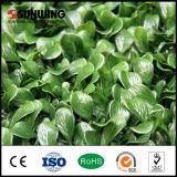 Valla de hoja de plástico de PVC barato Seto Artificial para jardín Decoración