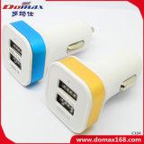 Заряжатель автомобиля отслежывателя разъема USB устройства 2 мобильного телефона Retractable