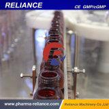 سائل آليّة يملأ و [سروب] يغطّي آلة لأنّ زجاجة شفويّ