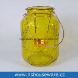 Supporto di candela decorativo di vetro della lanterna