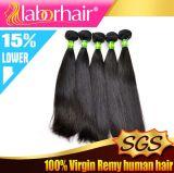 Estensioni brasiliane di vendita calde 100% dei capelli del Virgin non trattato dei capelli umani
