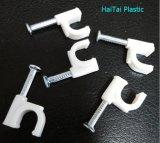 Los productos de alta demanda Cable Eléctrico cable redondo de uñas de plástico de pared clips