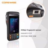接触モニタおよびRFID/NFC/Wireless/ICのカード読取り装置が付いている携帯用人間の特徴をもつ金銭登録機の製造