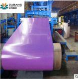 15 anos de experiência da bobina de aço com revestimento de cor do fabricante
