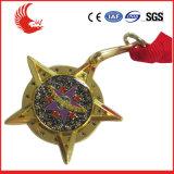高い等級の方法顧客用ギフトメダル円形浮彫り