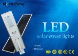 60W telefone inteligente de alta luminosidade solar Light-Operated controle luzes da rua