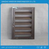 Aluminium-Außenluftschlitz-Vorhang-Fenster