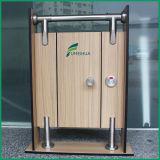 Verrouillage de porte de cloison en acier inoxydable