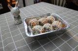 Квадратные формы для выпечки из алюминиевой фольги использовать контейнер для продуктов питания