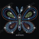 의류를 위한 Bling Hotfix 돌 패턴 아기 나비 디자인 모조 다이아몬드 이동 주제를 주문을 받아서 만드십시오