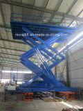 Mucha carga hidráulica tipo tijera transpaleta manual