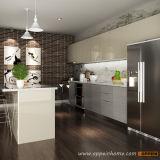 В отличие от HPL современной деревянной оптовая торговля мебель с острова (OP15-HPL03)