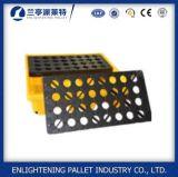 1300X660mm pallet di plastica di caduta dei due timpani per il barile da olio