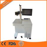 플라스틱 병/나무/피복/케이블 이산화탄소 Laser 표하기 기계 또는 광섬유 Laser 표하기 기계