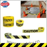 Straßenbau-einziehbarer Verkehr warnendes PET Barrikade-Band
