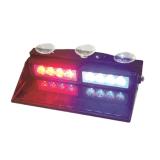 Luz vermelha e azul do diodo emissor de luz da geração III do carro da viseira