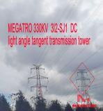 Struttura angolare della trasmissione della sospensione del circuito di Megatro 330kv 3I2-Sj1 Doble