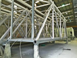 空気橋のための安定した軽い鉄骨構造の構築
