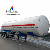 Almacenamiento de gas licuado de petróleo combustible camión cisterna semi remolque del depósito de gas para la venta