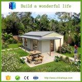 Madeira modular Prefab da casa da construção de aço da parte alta de Bangladesh