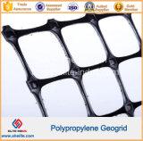 Buena calidad de la tensión de geomalla biaxial de plástico