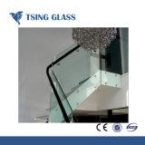 het Diepe Verwerkte Gehard glas van 319mm met Ronde/vlak Opgepoetste Randen