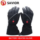 Handschoen van het Leer van Genunie de Verre controlemechanisme Verwarmde S01