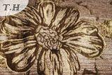 Meilleur-Vendre le tissu les deux de sofa de jacquard de Chenille ici et ailleurs