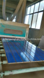 Nut-Schlitz MDF des 1220*2440mm Saphir-Blau-7+2