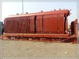 4トンのボイラー、蒸気の出力蒸気ボイラ、チェーン(走行の)火格子