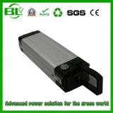 Het Li-ionen Pak van de Batterij van de Fiets van de Vissen E van het Pak van de Batterij 24V 15ah Zilveren in China met Voorraad