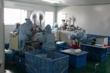 Comercio al por mayor barato mascarilla quirúrgica no tejido de color azul
