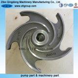 Moulage d'investissement acier Duplex Rotor de pompe centrifuge