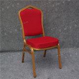 Présidence d'hôtel de fer avec le tissu rouge (YC-ZL22-03)