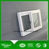 إطار أبيض وحيد زجاجيّة رخيصة [بفك] نافذة
