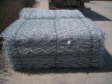 Galvanisierter Maschendraht Gabion Ineinander greifen-Kasten (100*120)