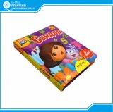 Livro de papelão para bebês com canto redondo
